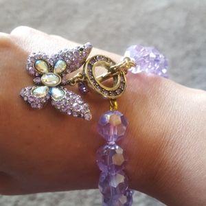 NIB Heidi daus butterfly bracelet